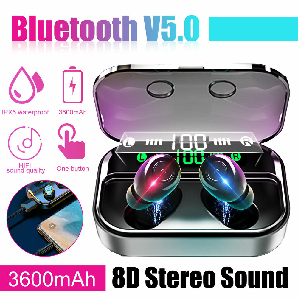 mini bluetooth 4 1 wireless in ear earbud sport stereo. Black Bedroom Furniture Sets. Home Design Ideas