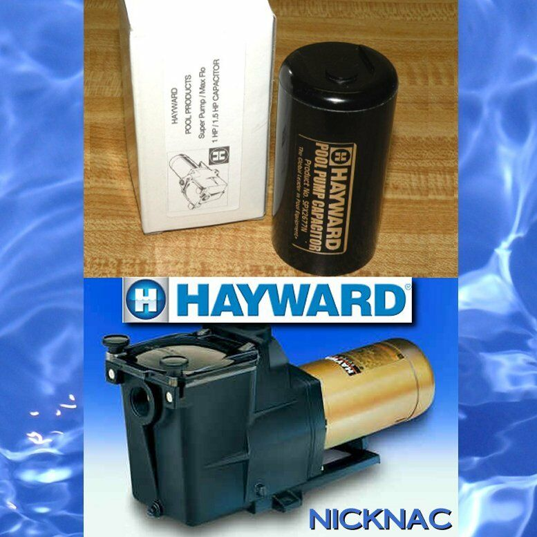 New hayward oem super pump capacitor 1 hp or 1 5 hp max for Hayward sp2610x15 replacement motor