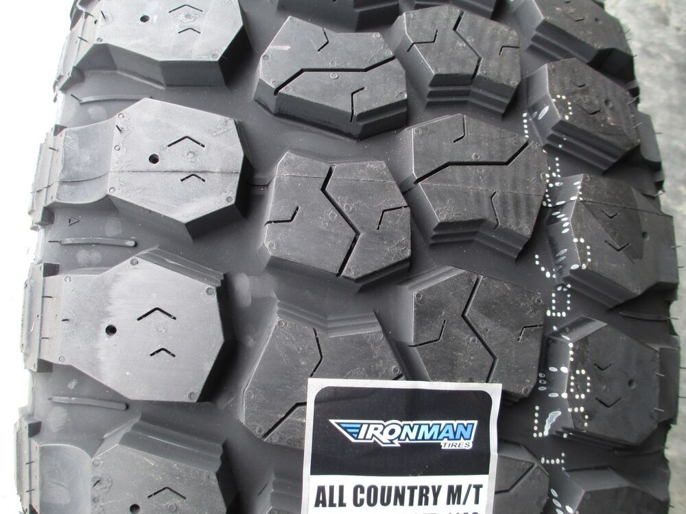 33x12 50r15 Tires >> 4 New 33X12.50R15 Ironman All Country MT Tires 33125015 33 1250 15 12.50 Mud M/T | eBay