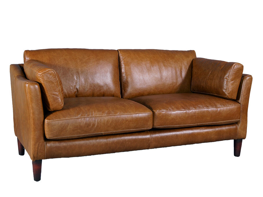 Manitoba sofa 2 sitzer columbia brown vintage leder m bel for Sofa ankauf