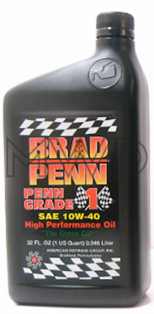 Brad penn grade 1 racing engine oil 10w40 semi synthetic for Case of motor oil prices