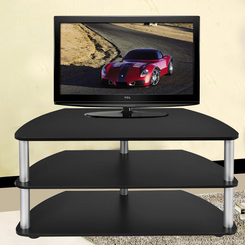 3 tier tv stand shelf entertainment center console media for Furniture news
