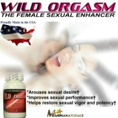 Wild Orgasm Female Sex Enhancer, Libido Booster, Drive -6032