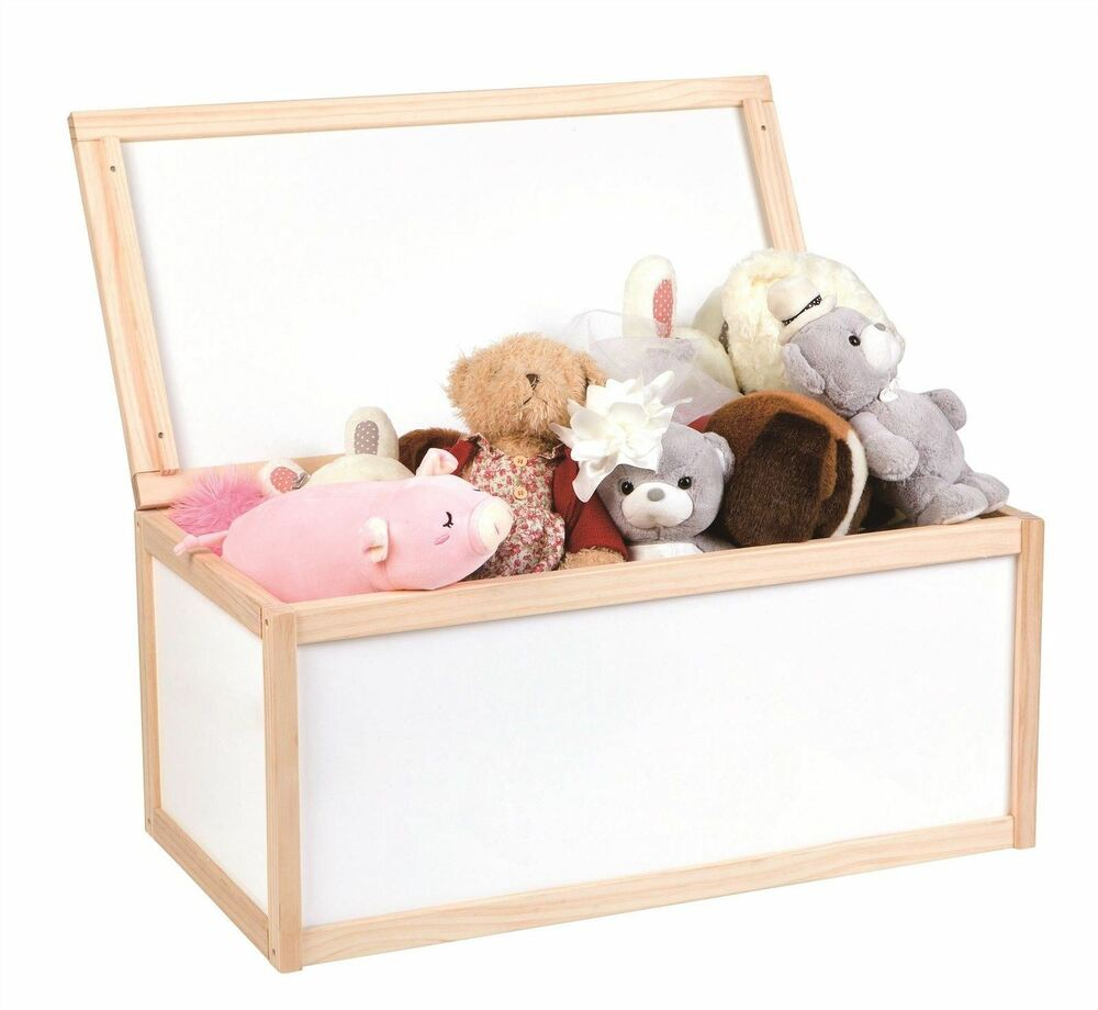 Kids Bedroom Furniture Kids Wooden Toys Online: Lelin Childrens Wooden Toy Storage Unit Chest Boxes Toys