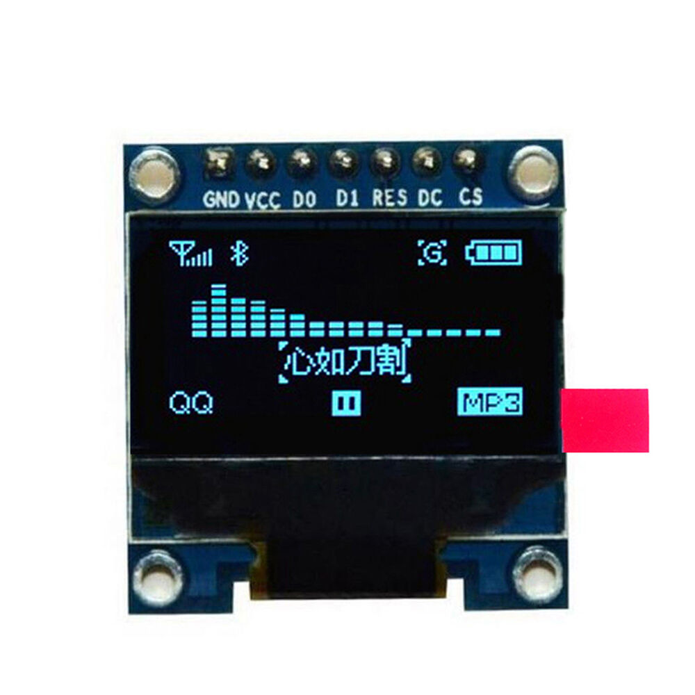 Quot i c iic spi serial oled lcd display ssd