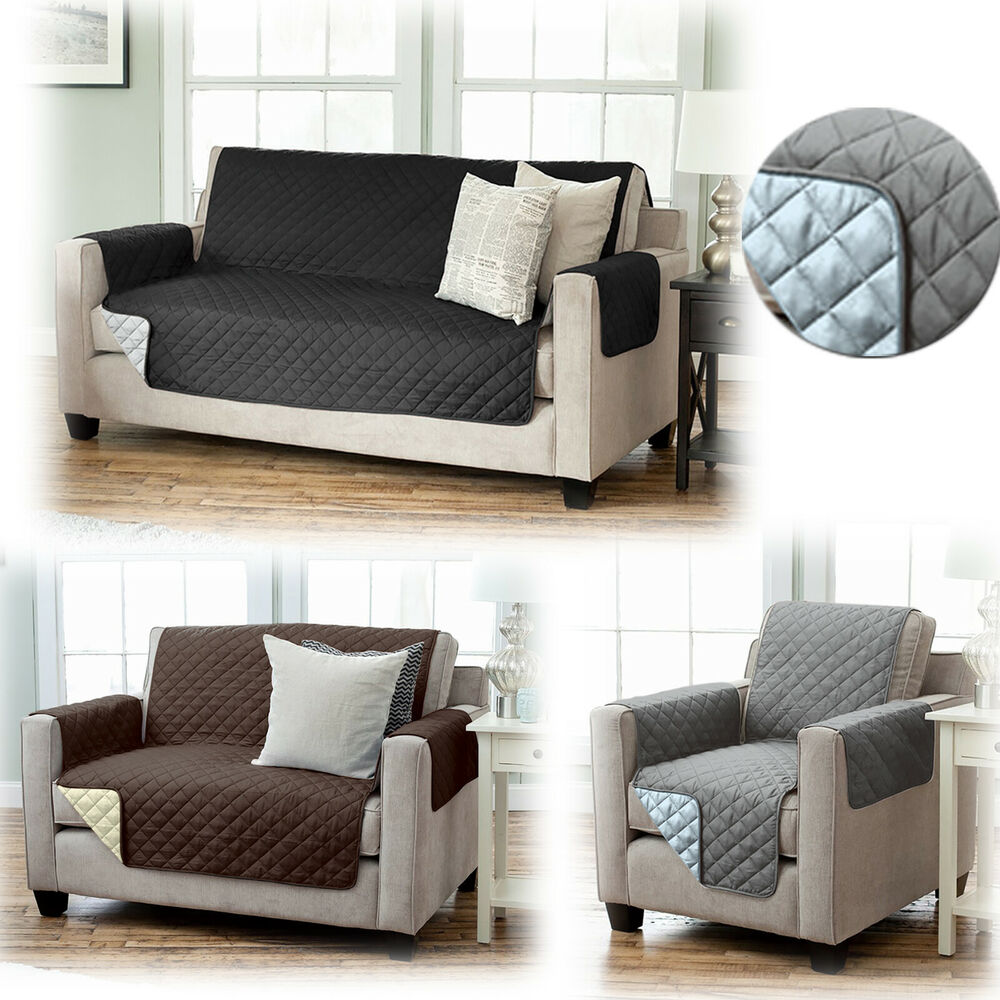 sesselschoner sesselauflage berwurf sessel berzug sesselbezug polster sofa ebay. Black Bedroom Furniture Sets. Home Design Ideas