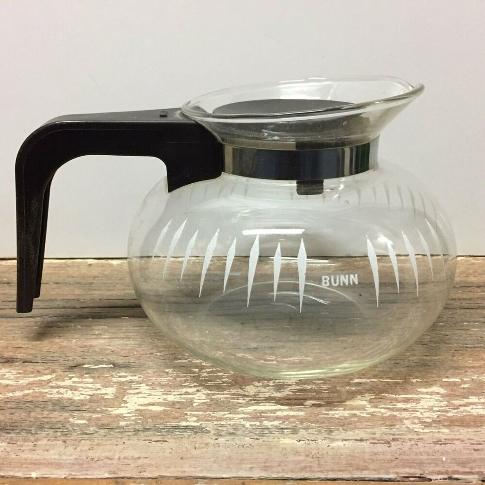 Bunn Coffee Maker Replacement Lid : vintage BUNN 8 cup coffee pot decanter with snap in lid replacement original eBay