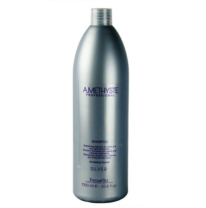 farmavita amethyste silver shampoo 1000ml gegen gelbstich eur 1 99 100 ml ebay. Black Bedroom Furniture Sets. Home Design Ideas