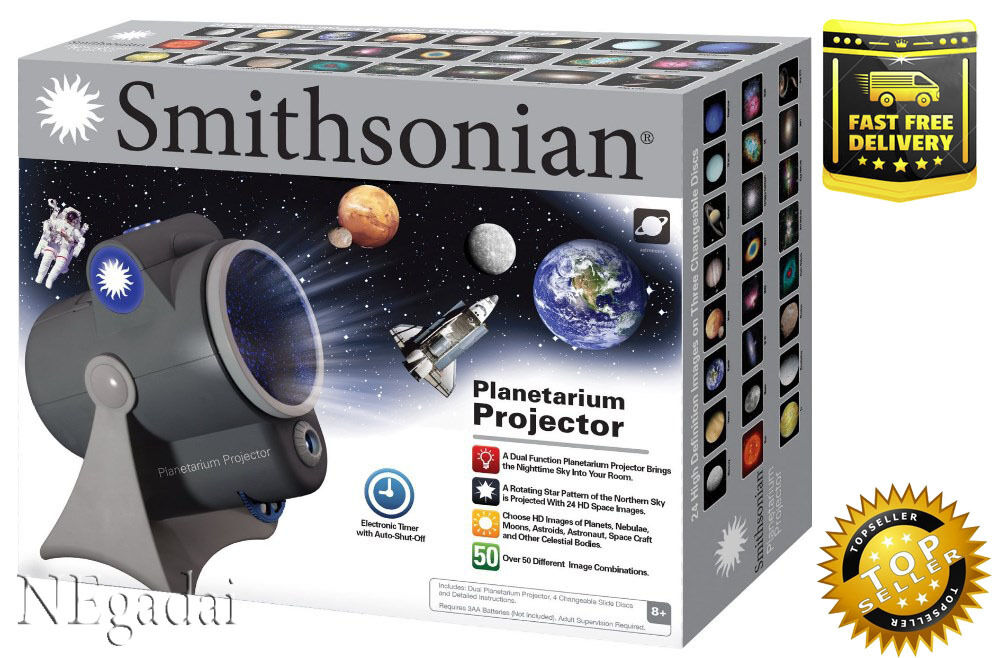 Space Projector Night Light Planetarium Dual Planets Star