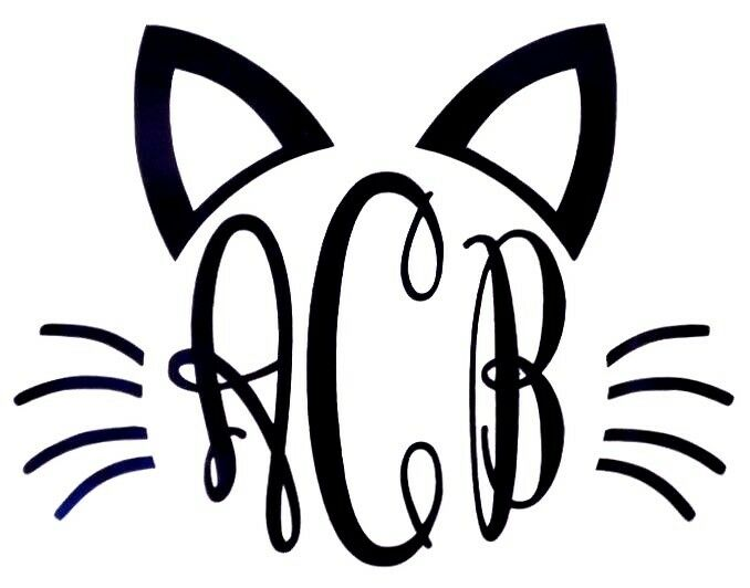 Black Cat Whiskers Clipart