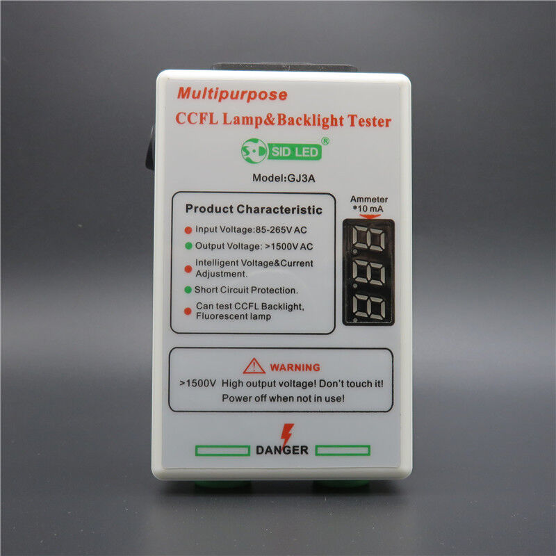 Lcd Tv Laptop Ccfl Backlight Tester Tool For All Size Lamp Multimeter Tests Checking Voltage And Short Circuits Intelligent Test Ebay