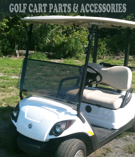 Yamaha drive g29 tinted windshield folding 2007 up high for Advanced motors and drives golf cart