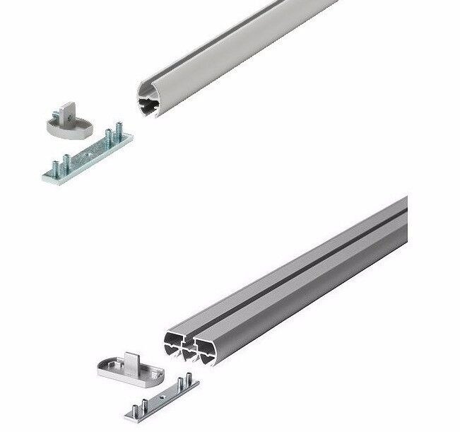 Ikea Kvartal Curtain Rail Triple 3 Or Single Rail 55