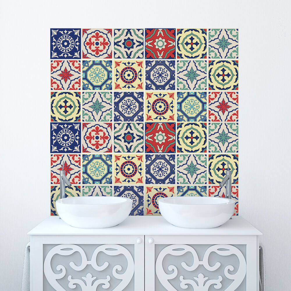 tile stickers bathroom tile stickers transfer traditional kitchen bathroom custom 14703 | s l1000