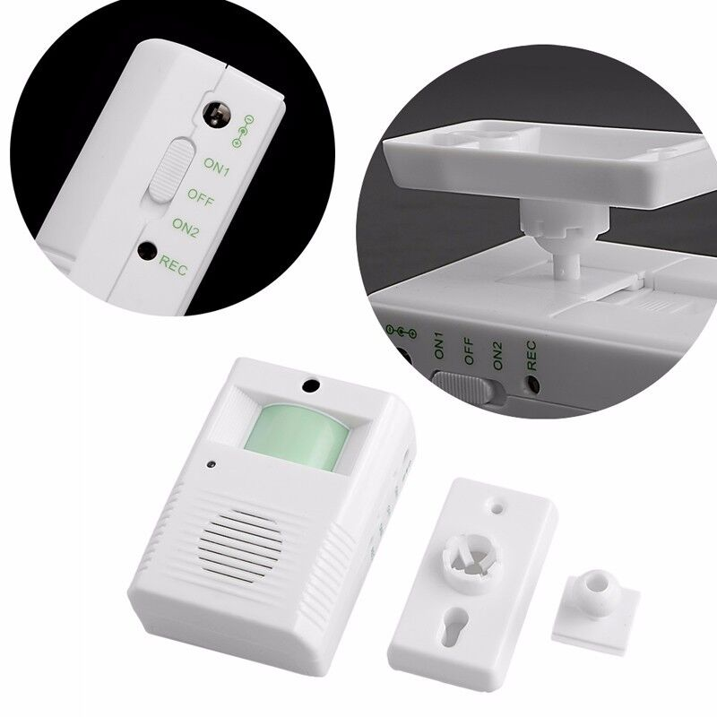 Shop Store Home Welcome Chime Motion Sensor Wireless Alarm Entry