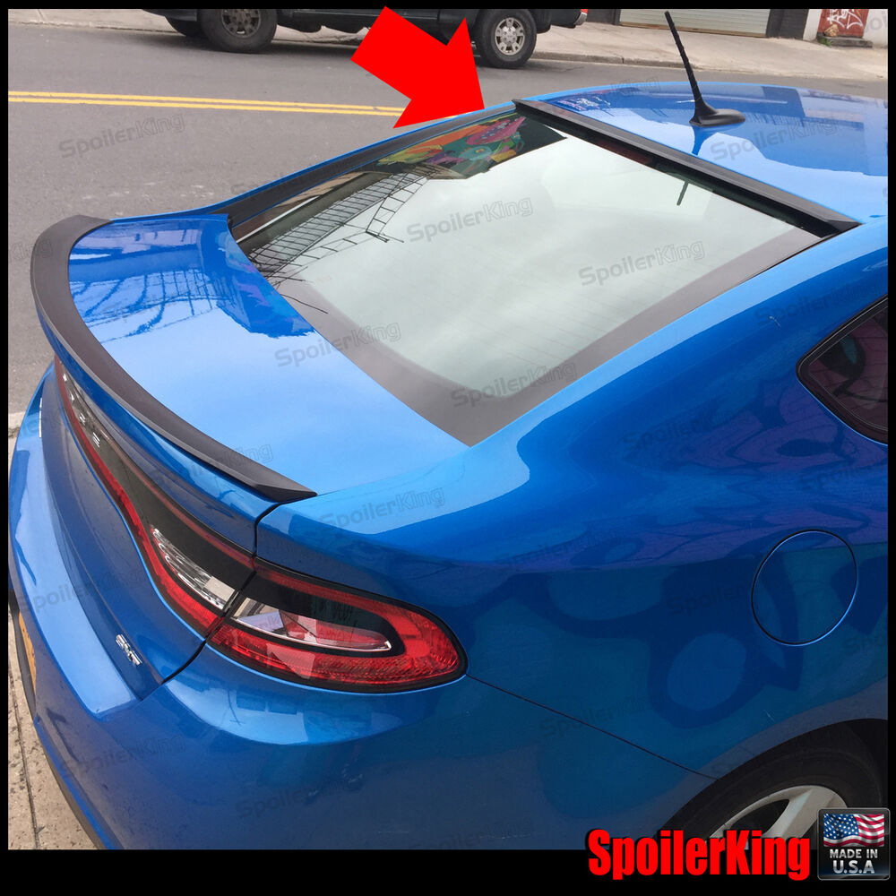 818r Stancenride Rear Roof Spoiler Window Wing Fits