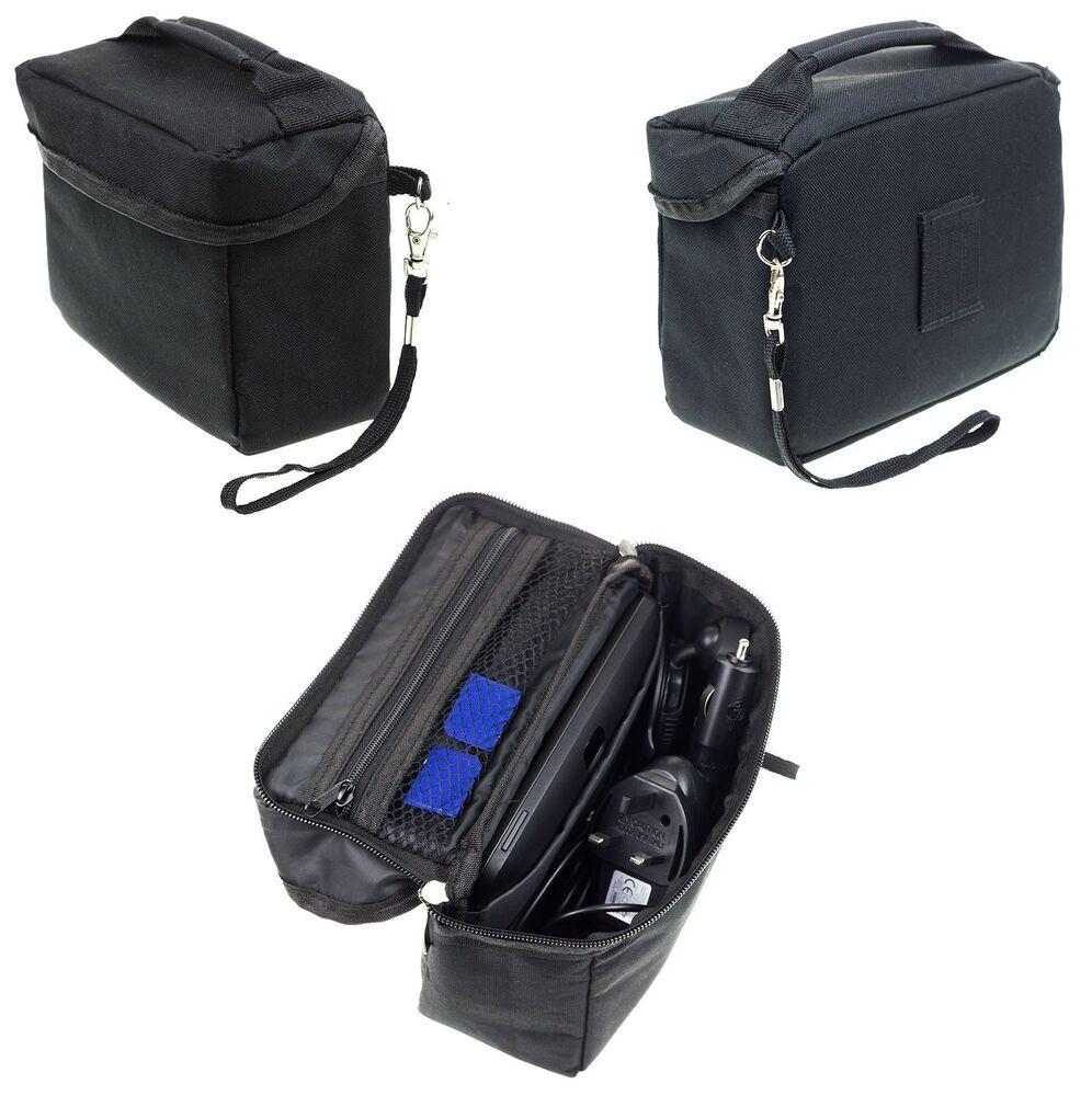 travel bag case for tomtom go 5200 520 via 53 52 start 52. Black Bedroom Furniture Sets. Home Design Ideas