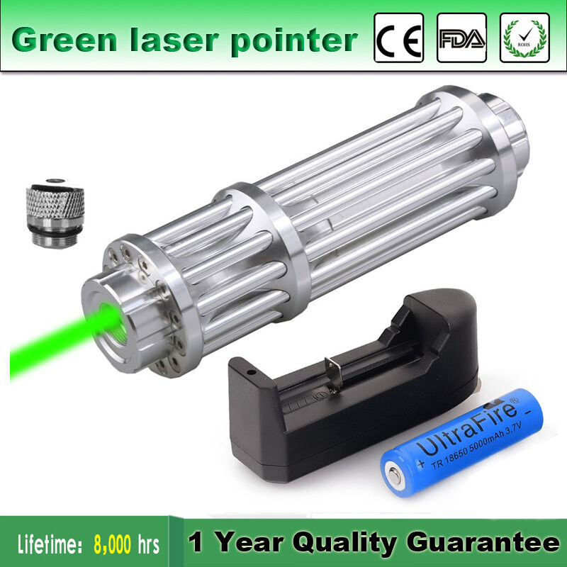5mw Powerful High Power Green Laser Pointer Pen Lazer