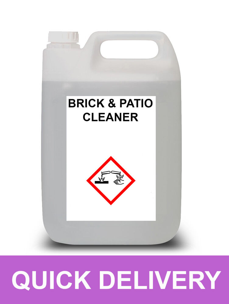 5 litre 10 hydrochloric acid pure brick and patio cleaner for Patio cleaning solution
