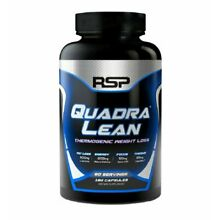 RSP Nutrition QuadraLean Thermogenic 180 caps Weight Loss Fat Burner New Sealed