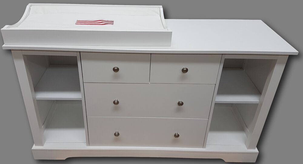 Change table baby chest 4 drawers dresser cabinet changer Nursery chest of drawers with changer