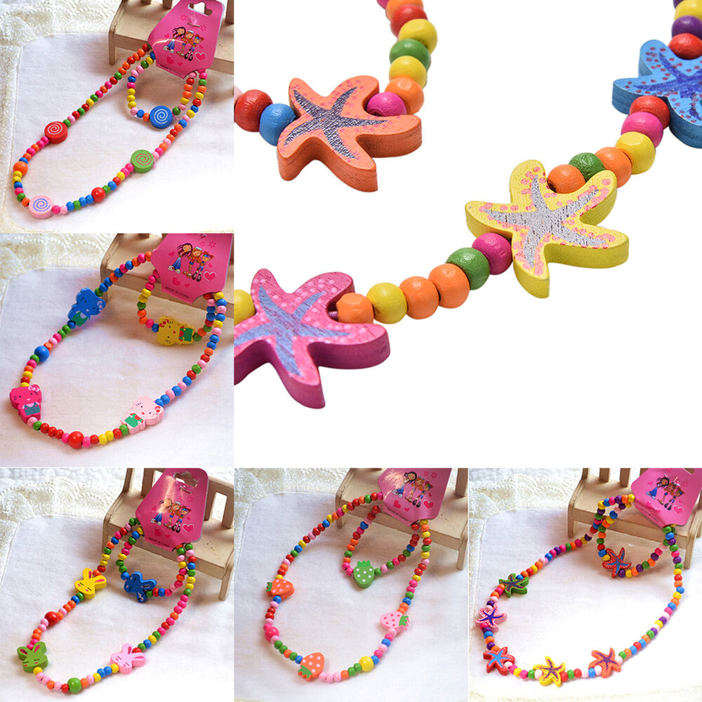 toddlers children necklace and