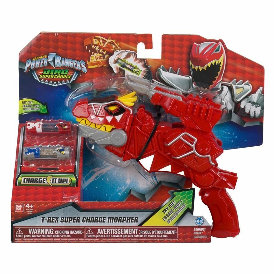 power rangers dx dino super charge t rex morpher brand new. Black Bedroom Furniture Sets. Home Design Ideas