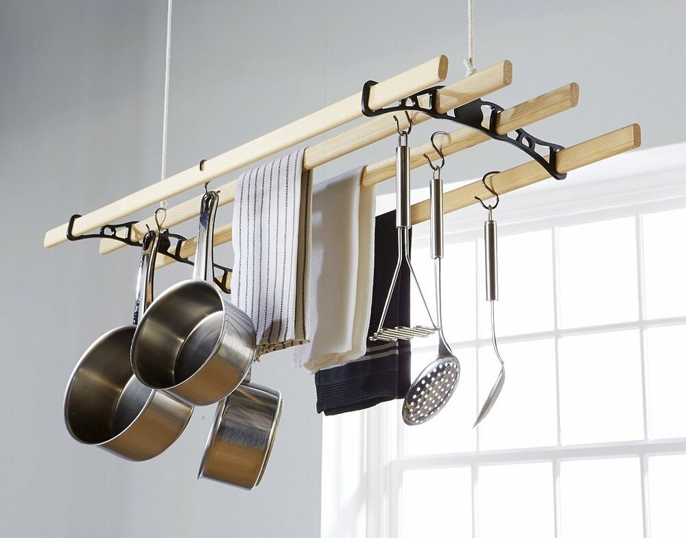 Edwardian Hanging Clothes Airer : eBay