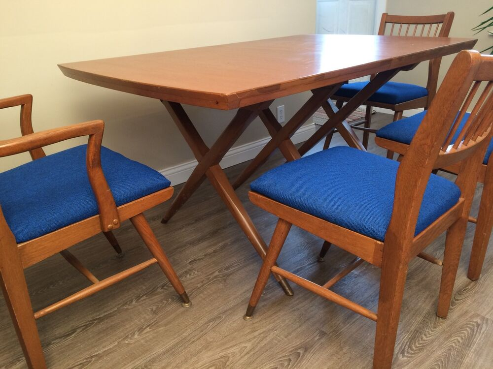 Vtg 1950s Danish Retro Atomic Mid Century Modern X Cross