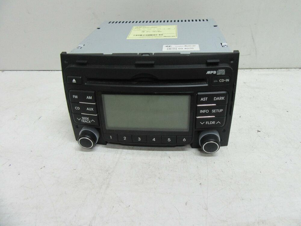 hyundai i30 radio cd mp3 wma aux cd player non bluetooth. Black Bedroom Furniture Sets. Home Design Ideas
