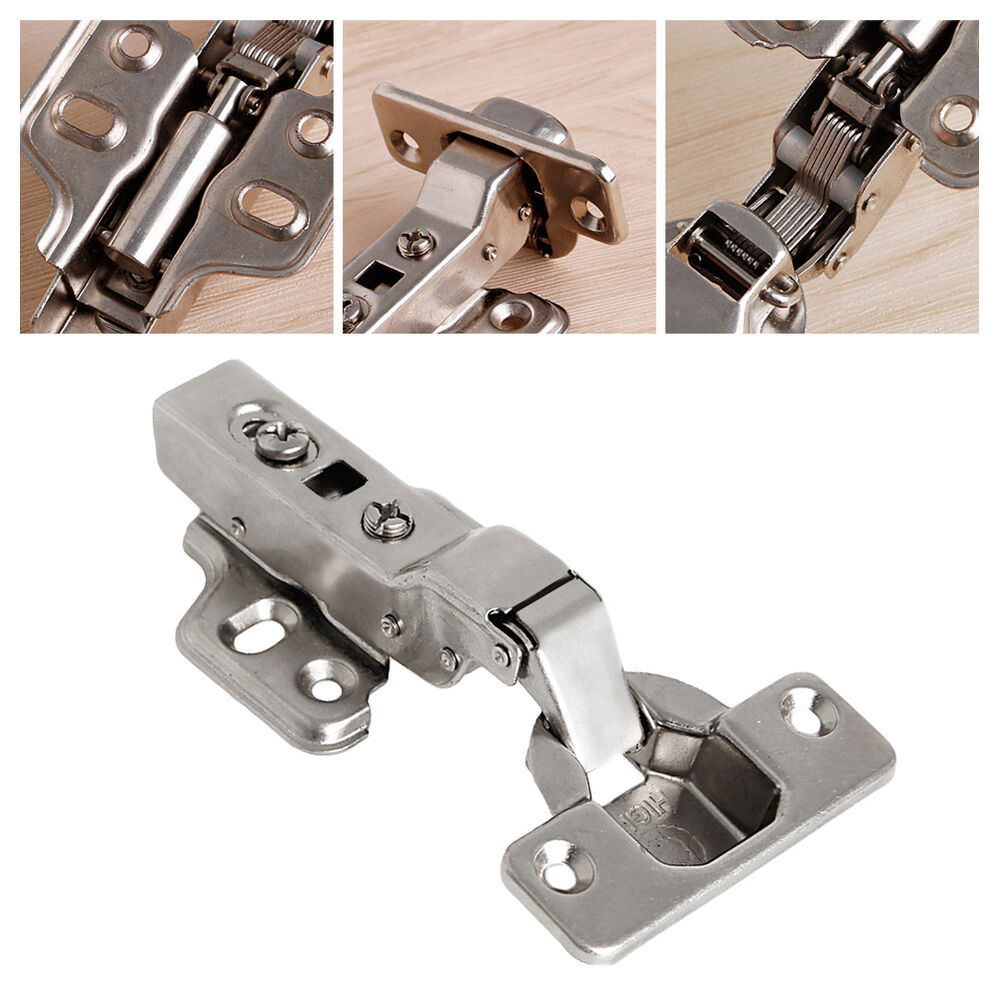 Kitchen Cabinet Soft Close Hardware: 35mm Soft Close Full Overlay Kitchen Cabinet Cupboard Hydraulic Door Hinge Cups 665210329343