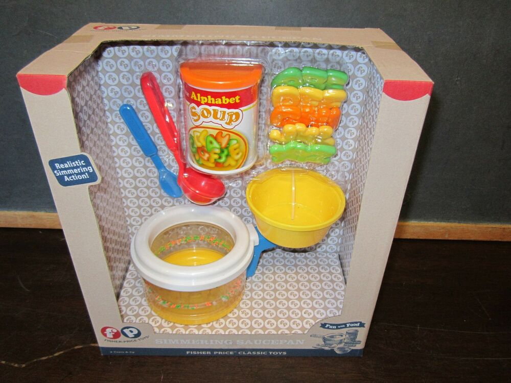 Fisher Price Toy Food : Fisher price fun with food simmering saucepan alphabet