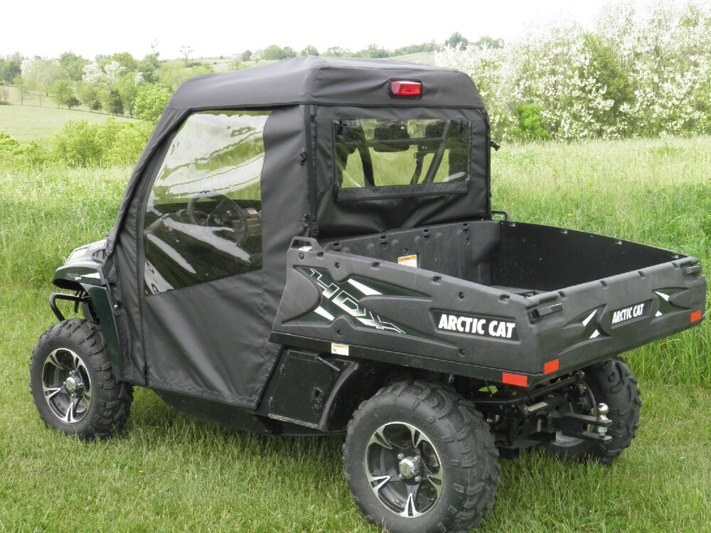 FULL CAB Enclosure For Existing Hard Windshield ~ Arctic ...