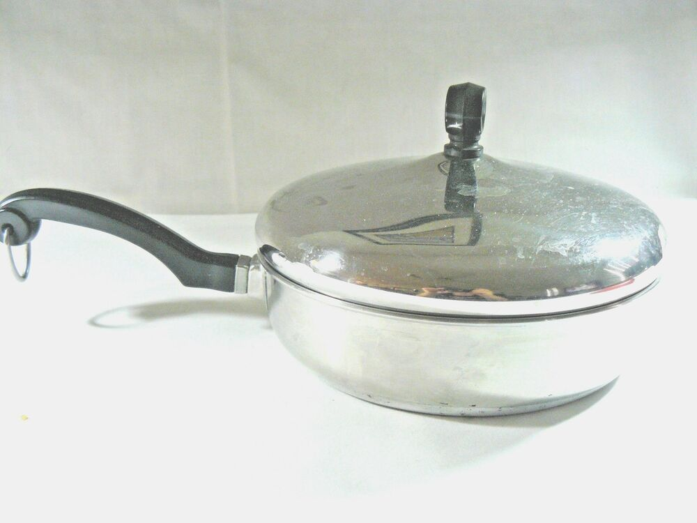 Farberware 7 Quot Skillet Frying Pan Aluminum Clad Stainless