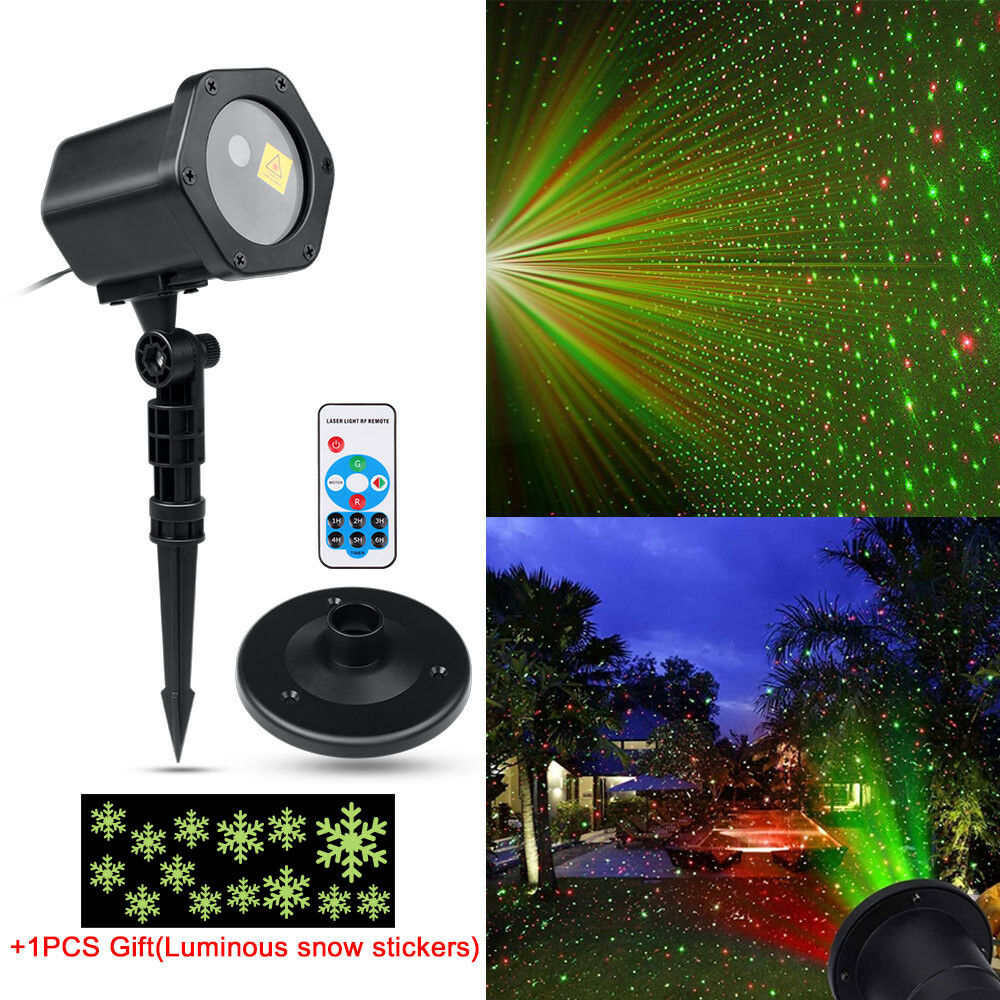 Outdoor Waterproof Christmas Laser Projector LED Light