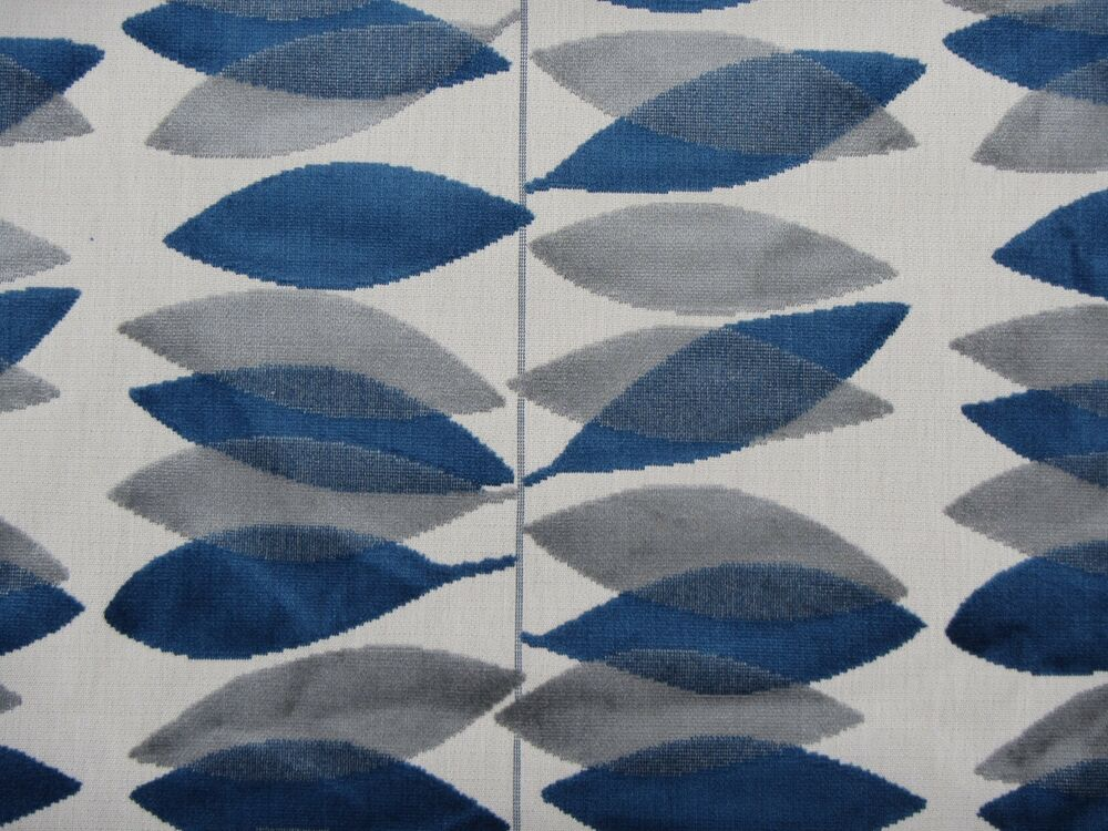 Sanderson Curtain Upholstery Fabric Miro 3 5 Metres Blue