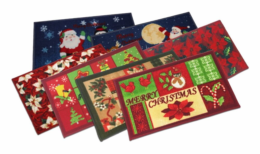 Christmas Design Decorative Kitchen Rugs Slice Rug 18x30