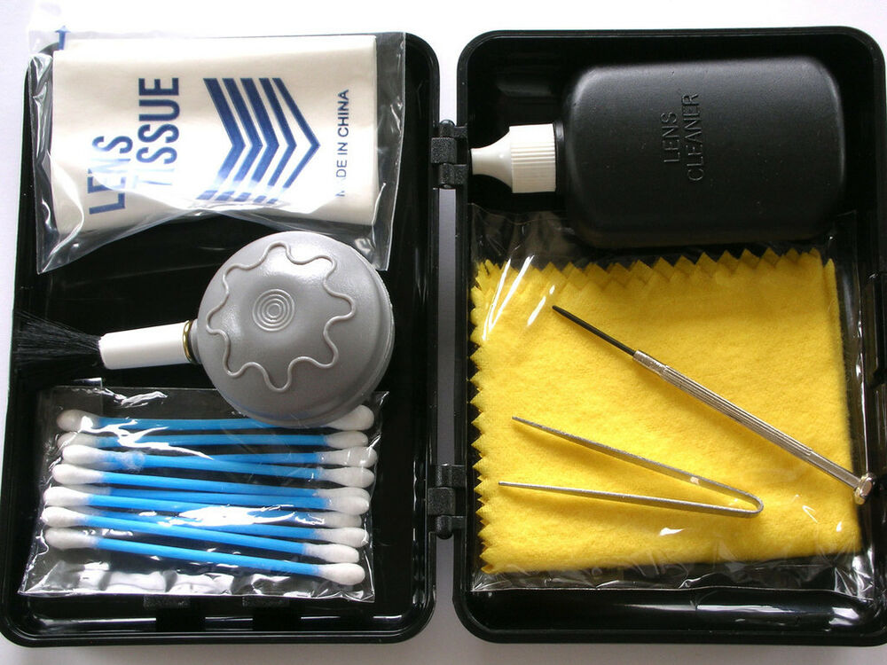 camera and lens cleaning kit including blower brush ebay