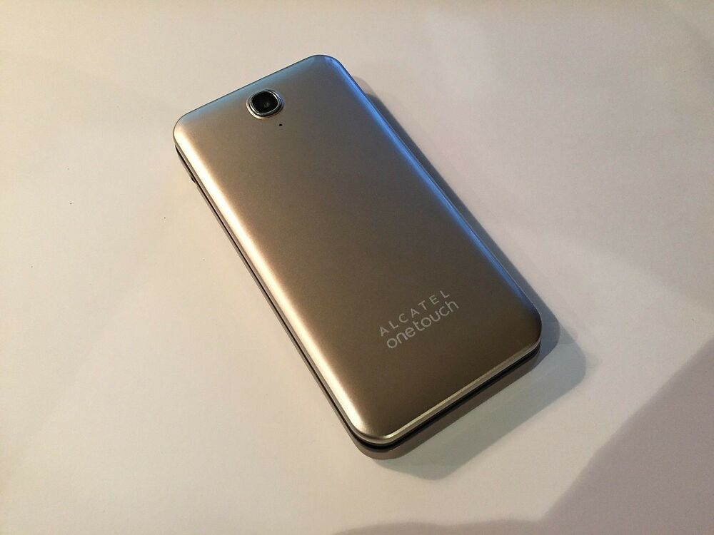 alcatel one touch 2012g flip soft gold 2 8 screen camera retro sr ebay. Black Bedroom Furniture Sets. Home Design Ideas