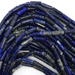 Kyпить 13mm natural blue lapis lazuli tube beads 15.5