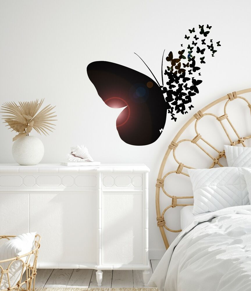 Vinyl Wall Decal Butterfly Home Room Decoration Mural