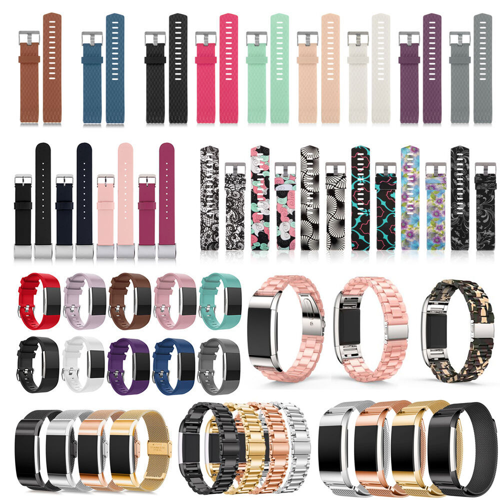 Various Luxe Band Replacement Wristband Watch Strap Bracelet For Fitbit Charge 2 Ebay