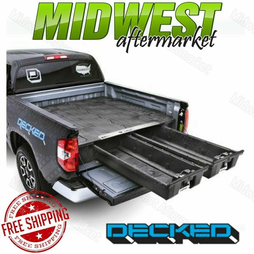 midsize bed canyon decked gmc system storage truck accessories