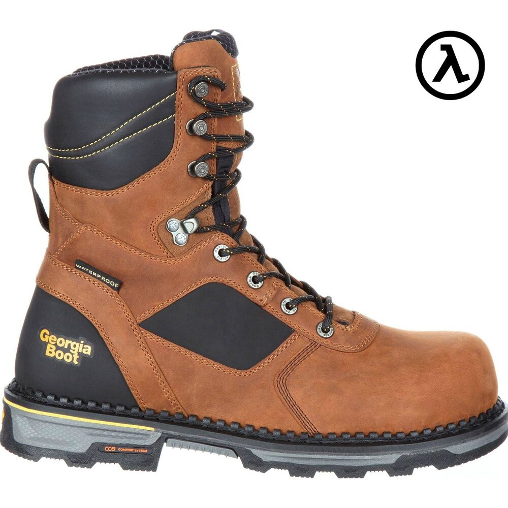 07221514177 GEORGIA BOOT HAMMER HD COMPOSITE TOE WATERPROOF WORK BOOTS GB00132 * ALL  SIZES | eBay