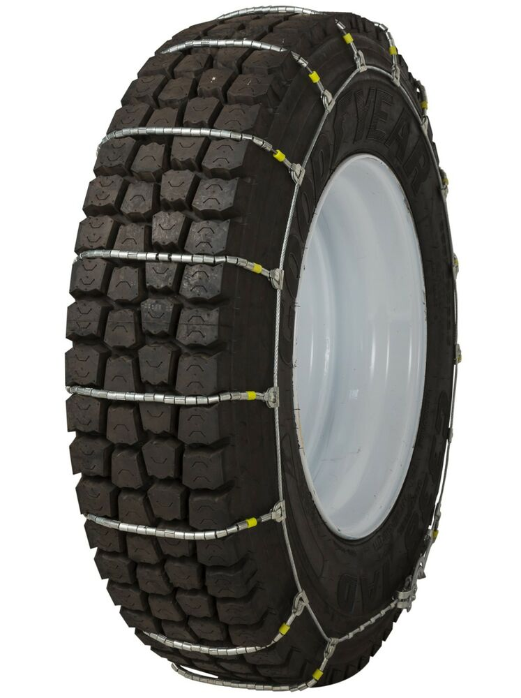 295 75 22 5 295 75r22 5 Tire Chains Cobra Cable Snow