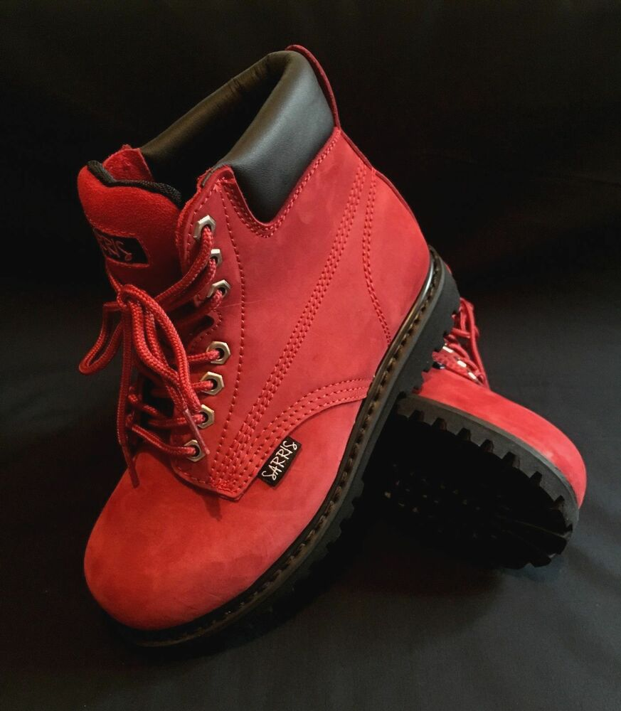 womens safety work boots lace up steel toe cap ebay