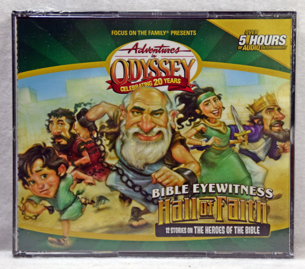 New Bible Eyewitness Hall Of Faith Adventures In Odyssey