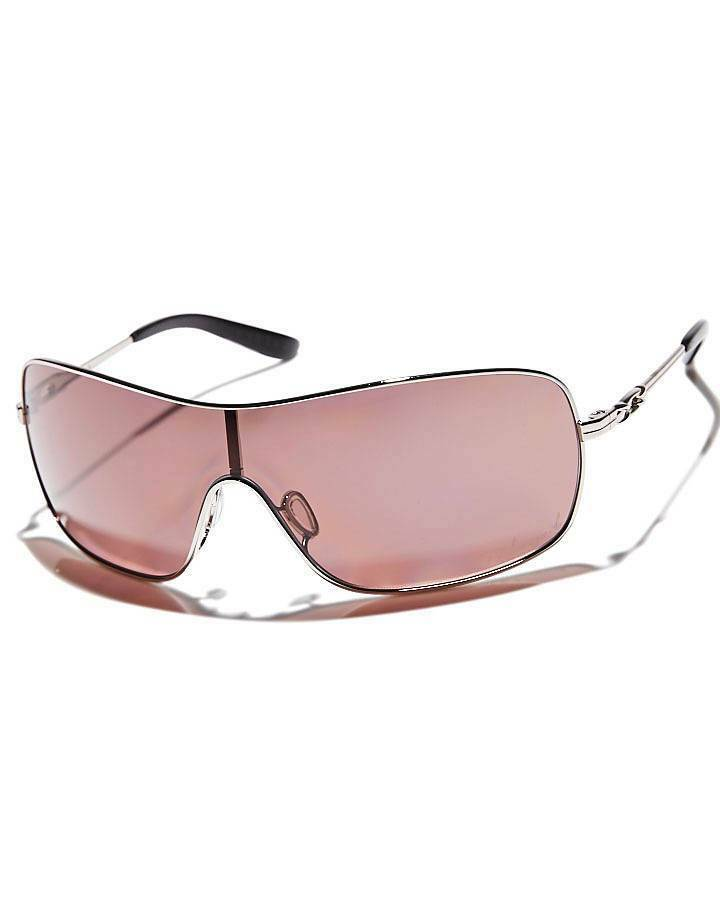 new oakley distress sunglasses chromeoo grey polarized women shield lens 260
