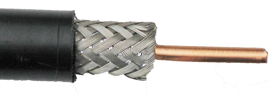 how to move coax cable