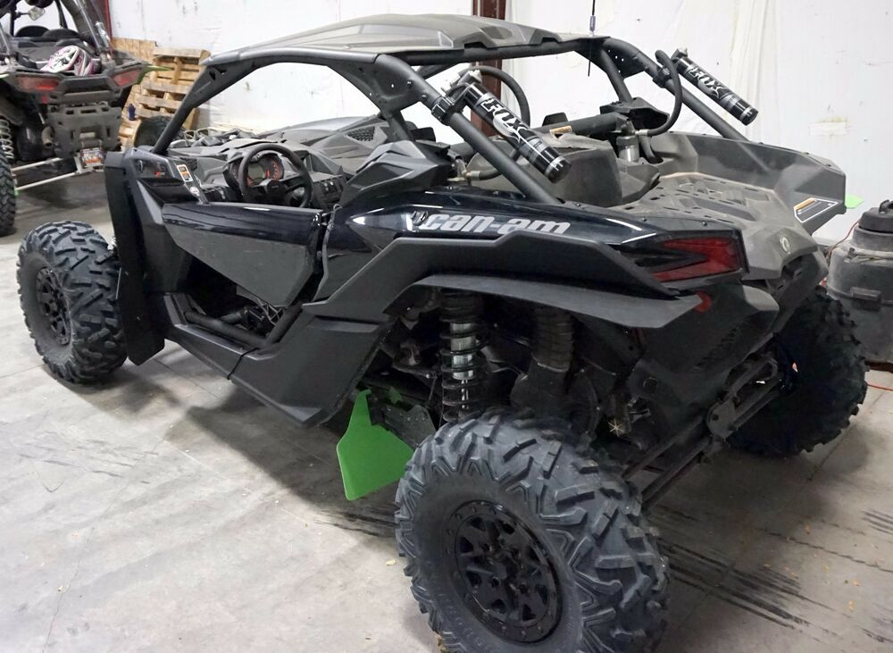 Can Am Parts >> CanAm MAVERICK X3 XRS Mud Flaps, Fender Extensions, by ROKBLOKZ All New! BLACK | eBay